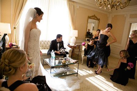 Habitacion de hotel para la novia