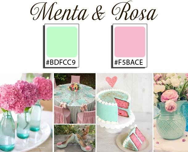 Boda Menta y Rosa