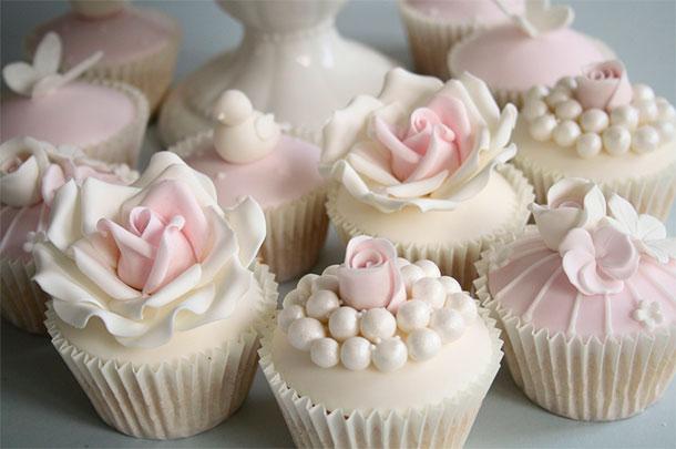 Cupcakes en lugar de Torta de Bodas