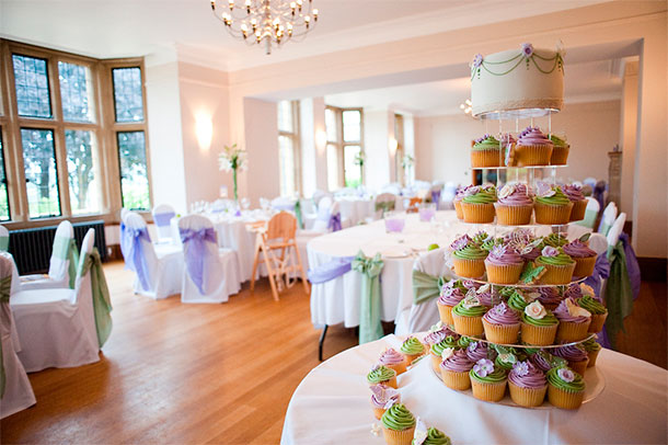 Torre de Cupcakes para Matrimonio