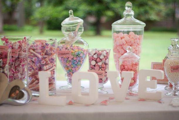 Dulces de Colores para Matrimonio