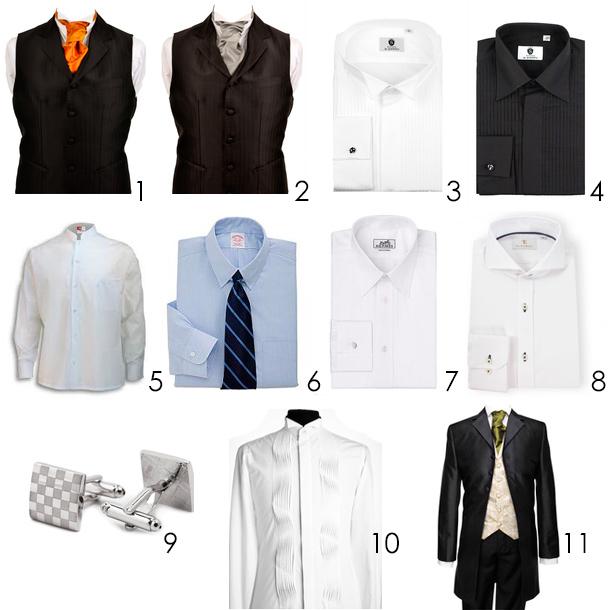 Definicion de los cuellos en trajes de novio