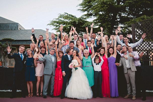 Consiente a los invitados a tu boda
