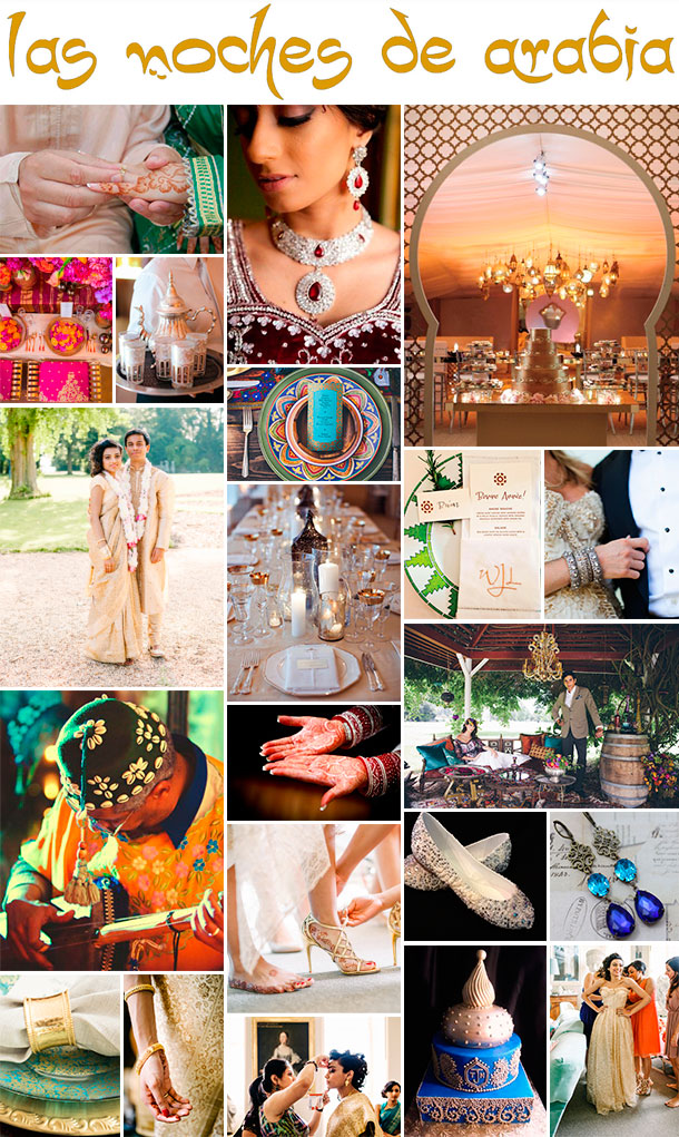 Tu boda estilo medio oriente