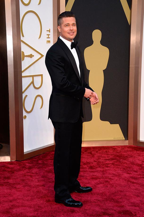 Traje de novio. alfombra roja de los Premios Oscar 2014