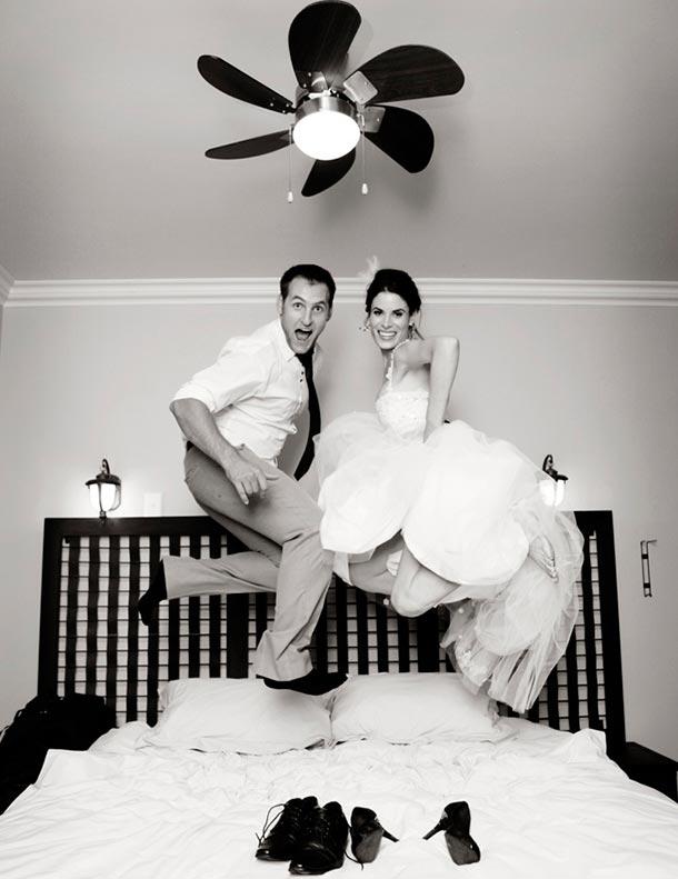 Noche de bodas en tu casa
