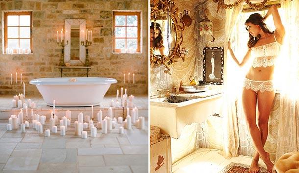 Ideas para tu noche de bodas