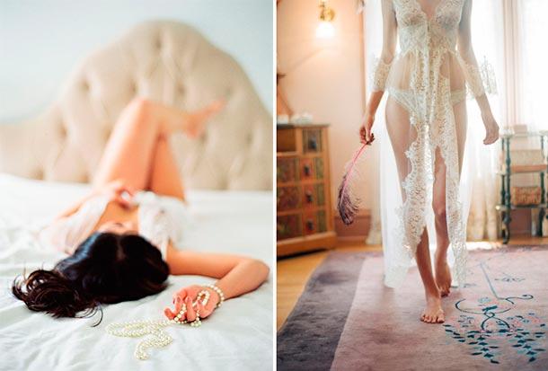 Noche de bodas, lencería para tu primera noche de casados. Fotografía Boudoir