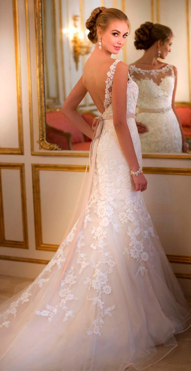 Cómo lucir más delgada en tu boda