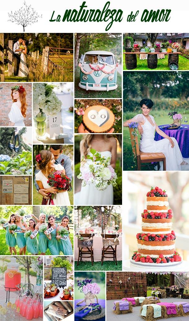 Inspiración para tu boda estilo campestre