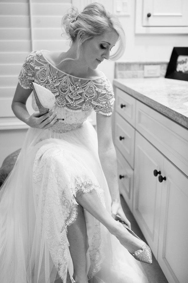 Lista de accesorios para tu boda. Zapatos de novia