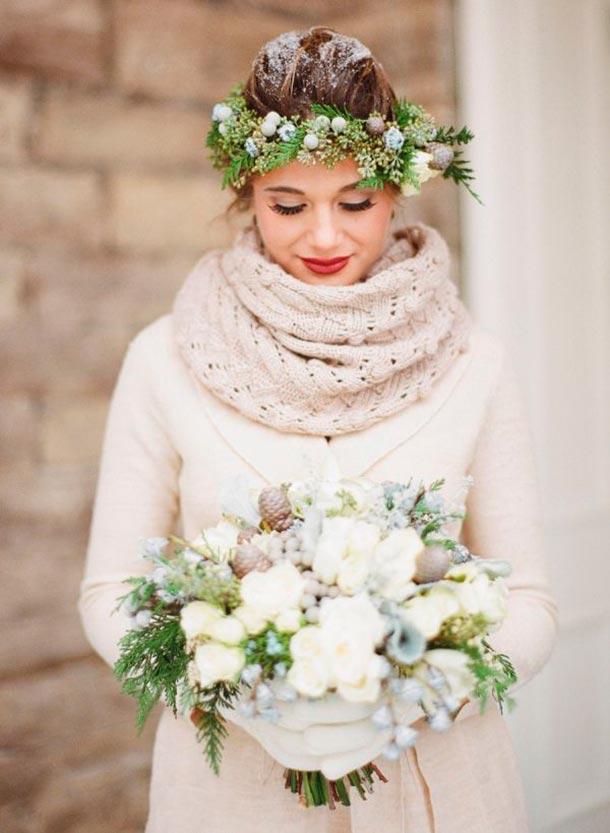 Lista de accesorios para tu boda. Abrigo y guantes