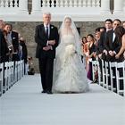 La Novia y su Padre entrando a la Ceremonia