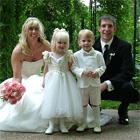 Pajecita y Pajecito de Matrimonio